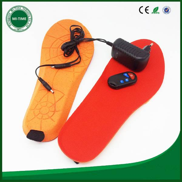 rechargeable heat insole