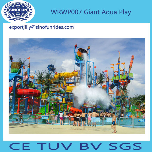 water park water play equipment fiberglass tree house