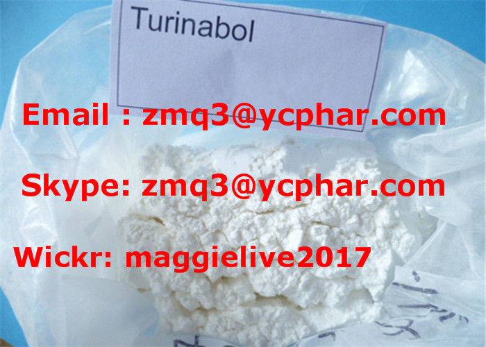 Positive Anabolic Steroid Turinabol / 4-Chlorodehydromethyltestosterone for Oral