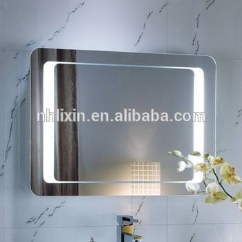 Modern LED Backlit Bath Mirror