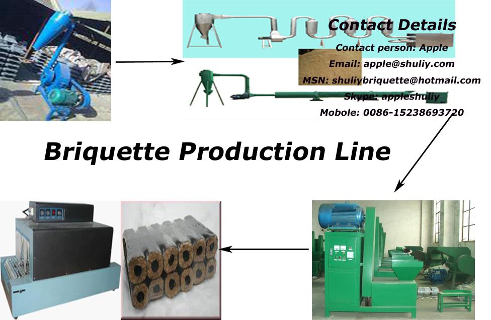 shuliy best selling Briquette machine