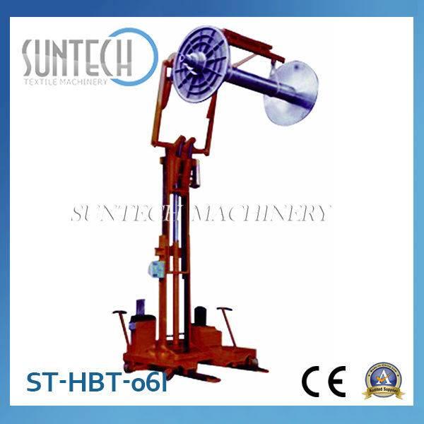 ST-HBT-06I Electro Hydraulic Warp Knitting Beam High Lifting Trolley