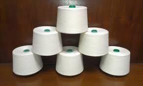 100% ring spun polyester yarn