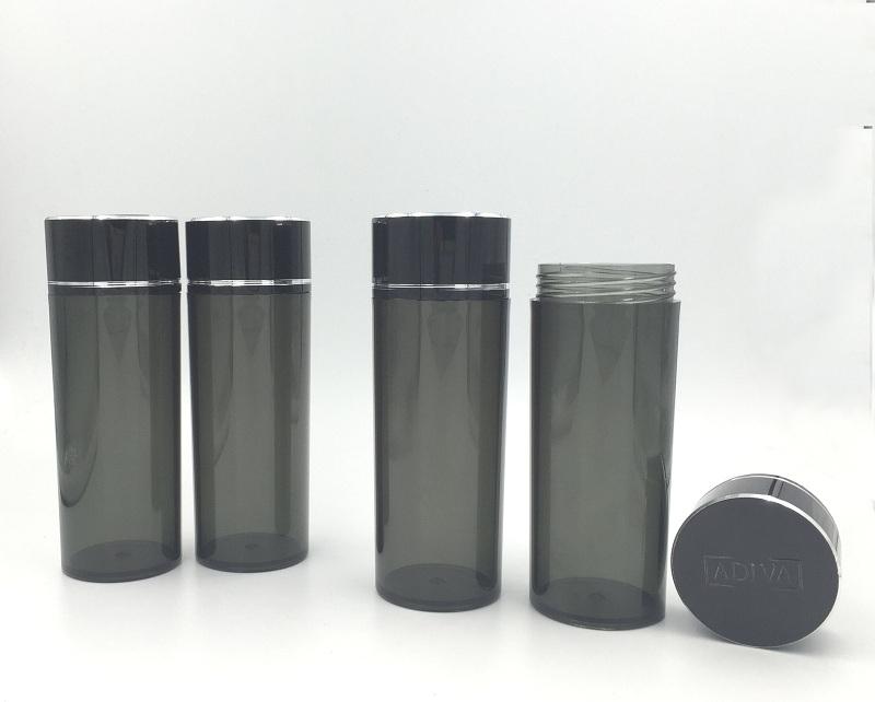 plastic medicine bottle capsule pill bottle with lid
