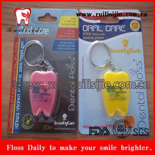Tooth Dental Floss Supply Custom Label Printed 20yard Personal Dental Flosser