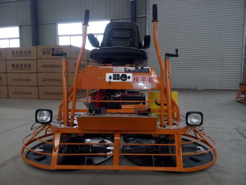 constraction concrete troweling machine for road pavement
