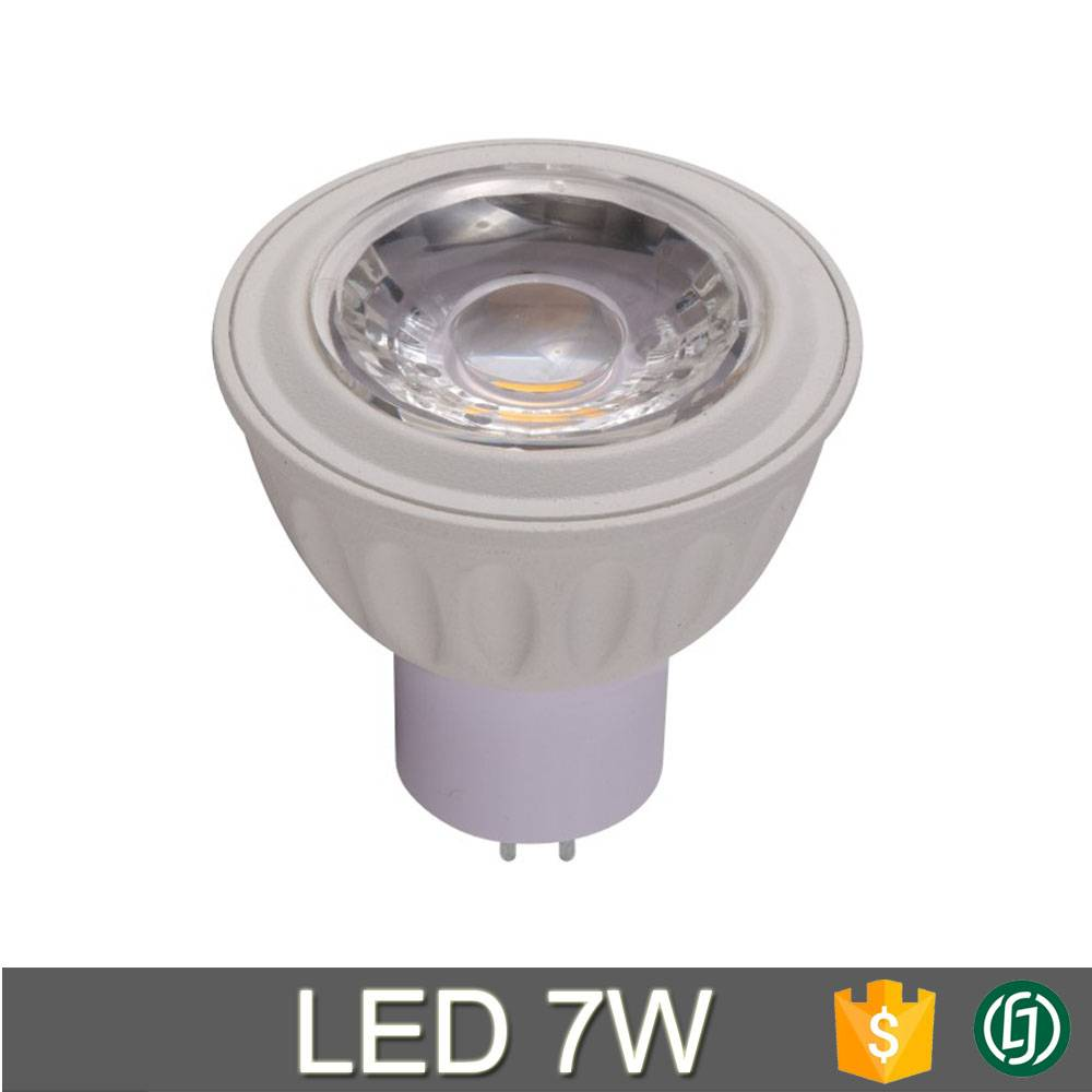 Private model 50*55mm MR16 led spotlight Gu10 base 3W 5W 7W
