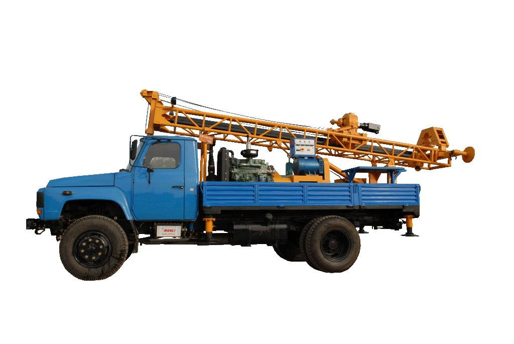 GSD-IIA Truck Mounted Drilling rig