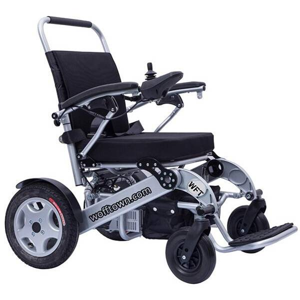 Wft-A08L Heavy Duty Folding Power Electric Wheelchair