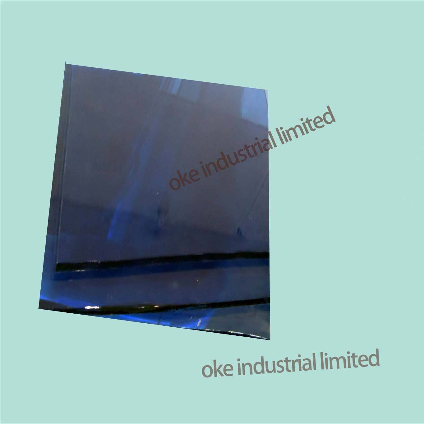 3.7MM/4.7mm/5.4mm Ford blue reflective glass