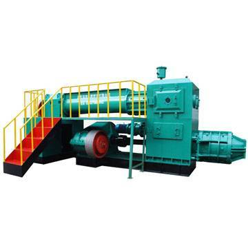Hollow clay brick making machine