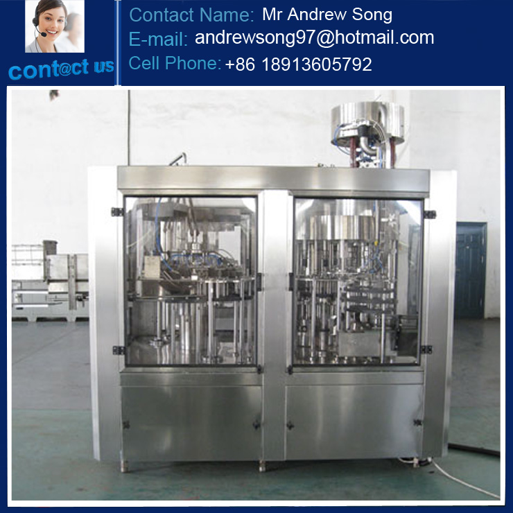 Filling line mineral water