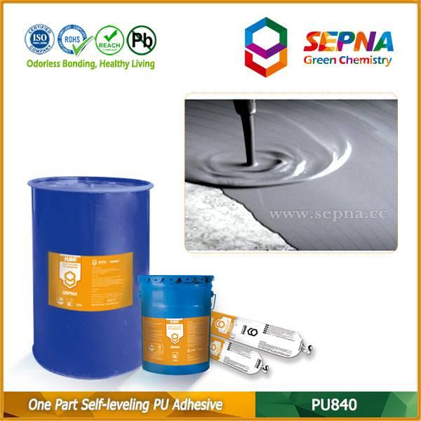 Single Component Polyurethane Self-leveling Adhesive PU840