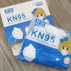 factory sales 4ply anti-virus KN95 Disposable protective mask for children CE and FDA approved