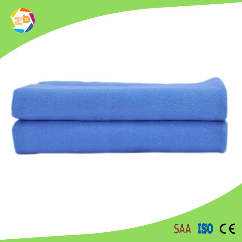 customized fleece and polyester bed warmer with approved CE/Rohs