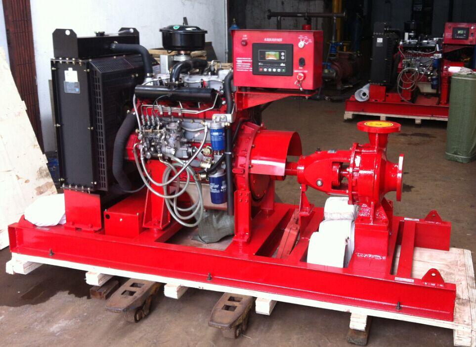 Trailer mounted dewatering pump