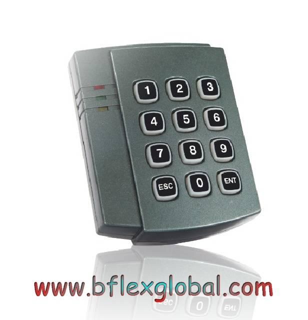Mifare card access control