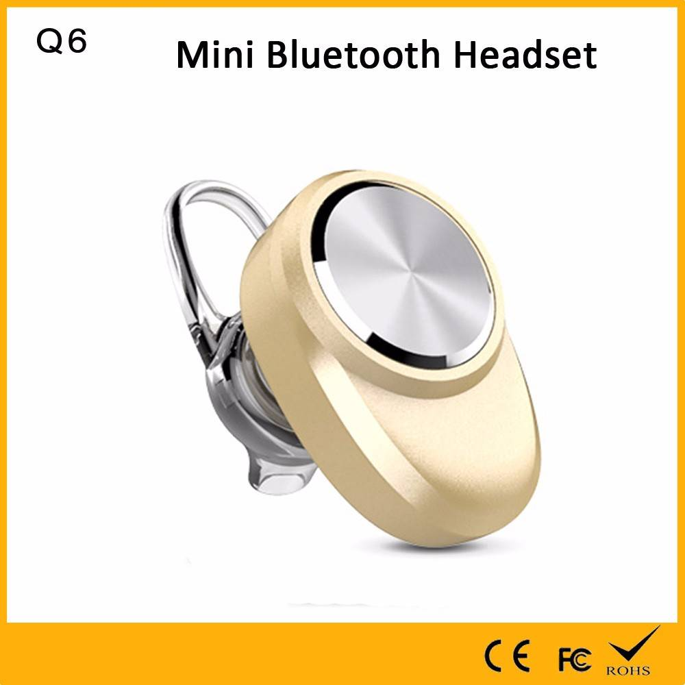 Quality Assurance factory for gold invisible in-ear wireless mini bluetooth earphone with microphone