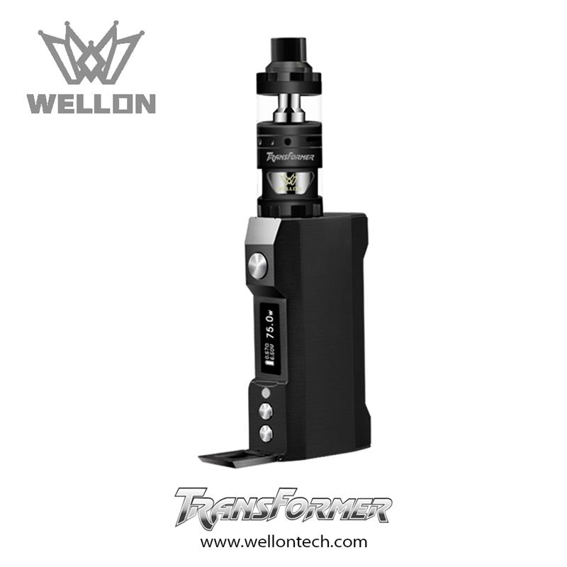 Zero-Leak Vape: Wellon Transformer Kit 75 W TC