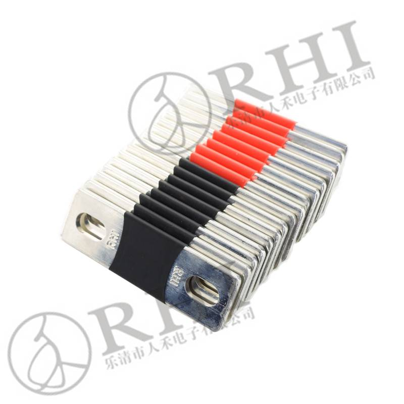 Factory-price Electrical Flexible Copper Busbar Connectors