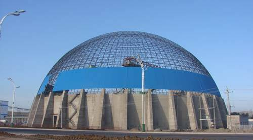Steel Structure Space Grid Dome Type Shed Xuzhou Zm Besta
