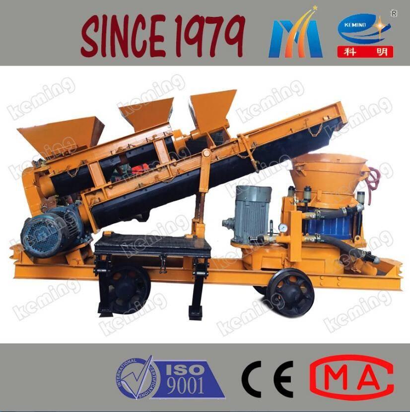 7 m3/h Wet Shotcrete Machine for Coal Mine