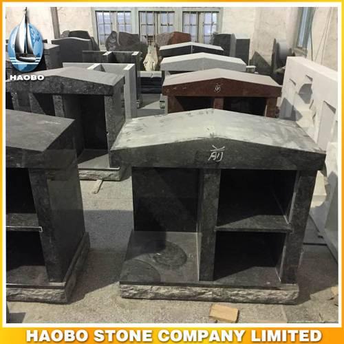 Customized Granite Columbarium Two Niches For Sale