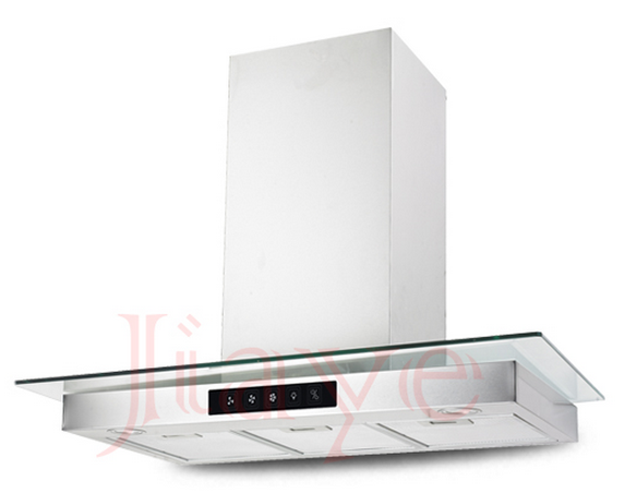 T Type Beuatiful White Cooker Range Hood