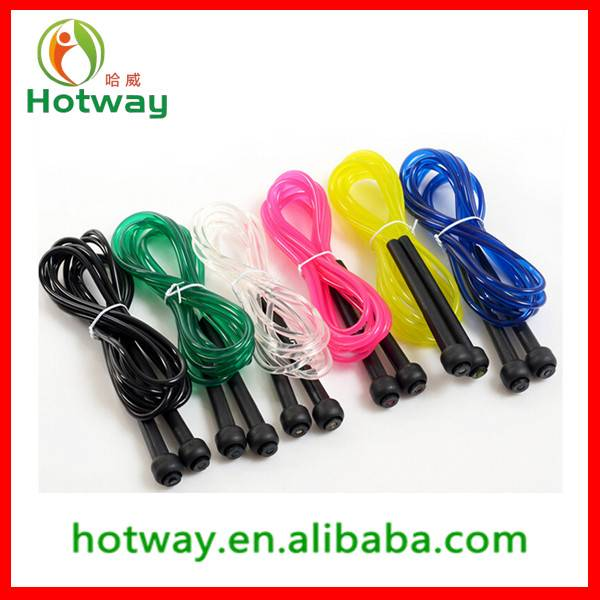 Outdoor Body Building High Quality Children Promotional Jump Rope PVC Skipping Rope