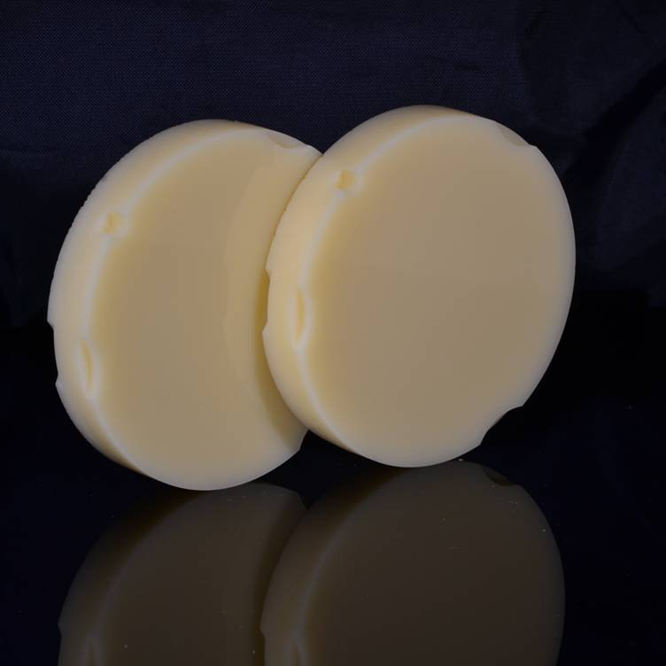 100% resin dental pmma discs suitable for Zirkonzahn cad cam moulded resin disk dental lab equipment