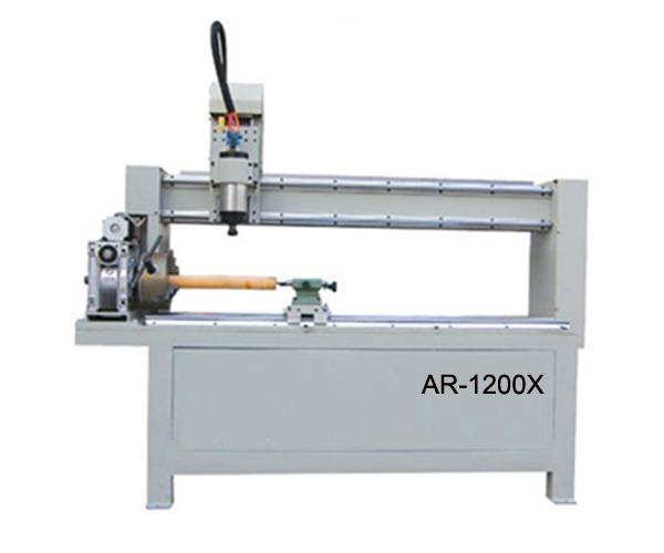 Cylindrical cnc engraving machine/CNC Router with rotary axis AR-1200