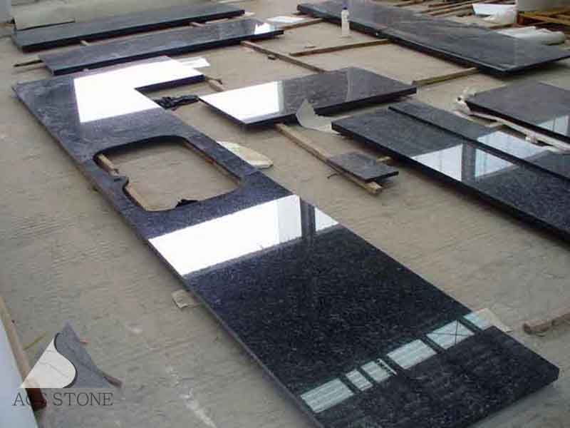 Blue pearl granite kitchen top