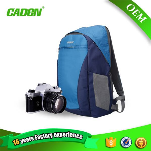 Mountaineering travelling waterproof polyester slr camera backpack manufacturers china