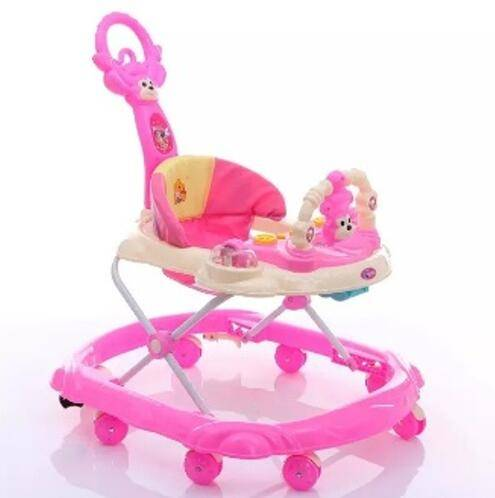 Good quality round plastic baby walker