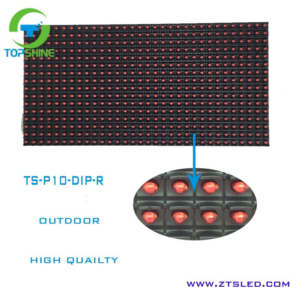 10 mm Pixels and Outdoor Usage P10 led display module 32*16 led billboard p10 for advertising