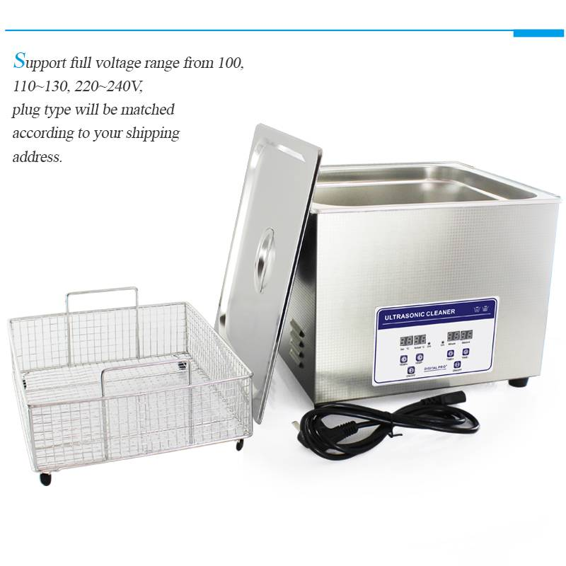 Customized ultrasonic cleaner equipment for shop and industrial