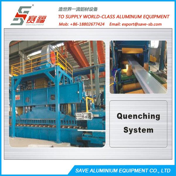aluminium extrsuion upper centralized cooling