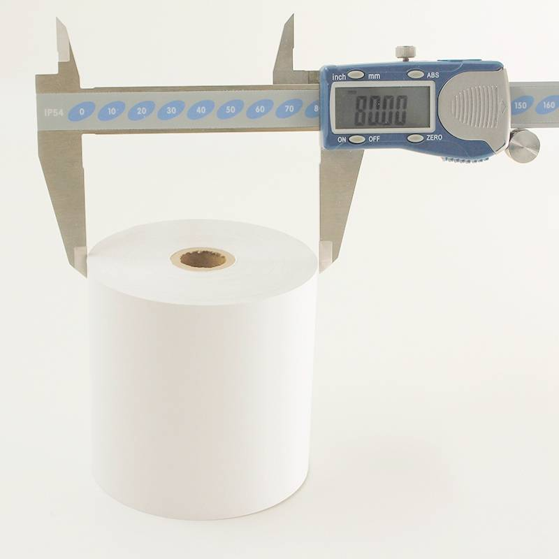 80m length thermal paper roll cashier paper rolls