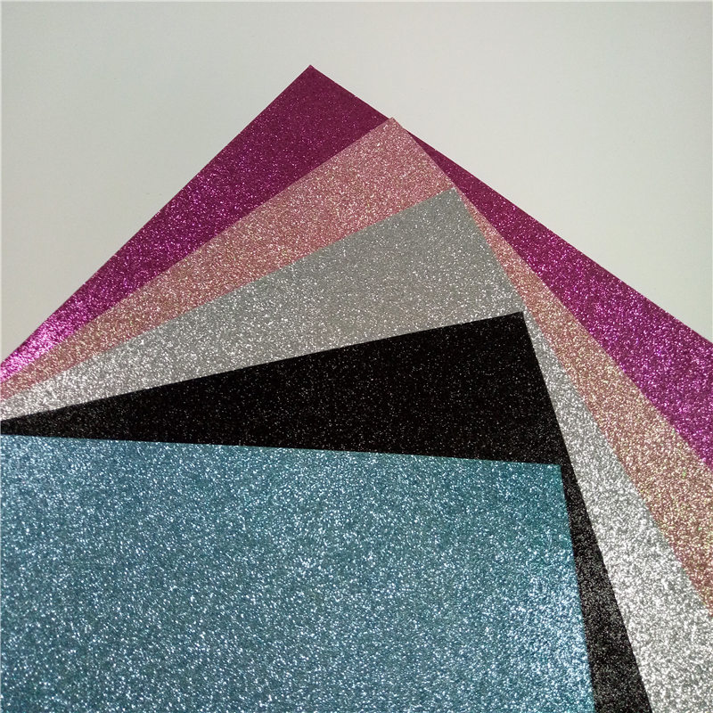 Colorful 30.5CM30.5CM glitter paper decoration Factory High Quality Wholesale craft decoration wall