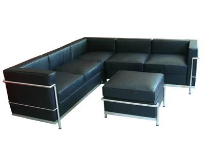 Hotel/Living Room Furniture Corner Sectional sofa