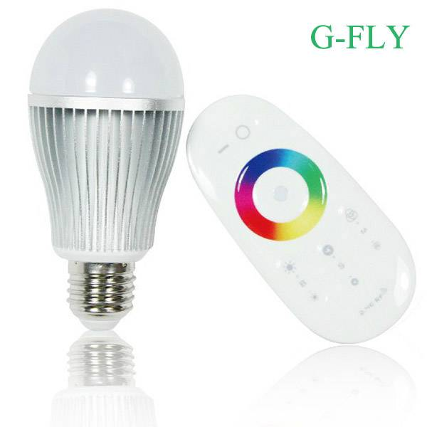 Samsung chip RGBW led bulb control colors by your amsrt phone