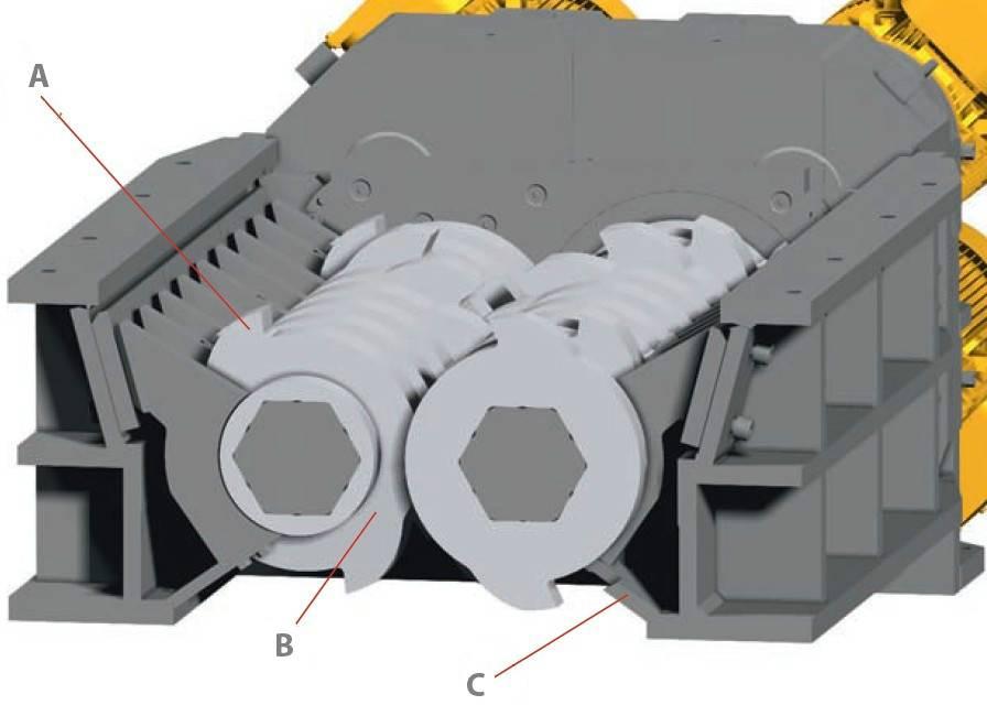 Double-shaft Shredder (RDS)