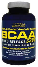 MHP BCAA 3300 - Sustained Release Aminos 120 Tablets