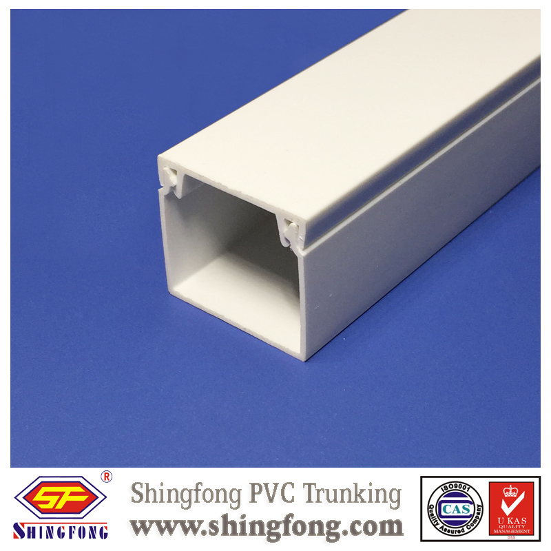 Self-adhesive 12x12 square pvc cable trunking tray
