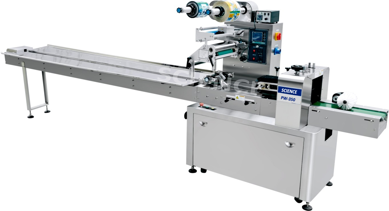 PW-300A Flow Wrapping Machine