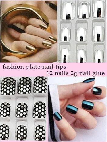 newest design metal curved nail tip