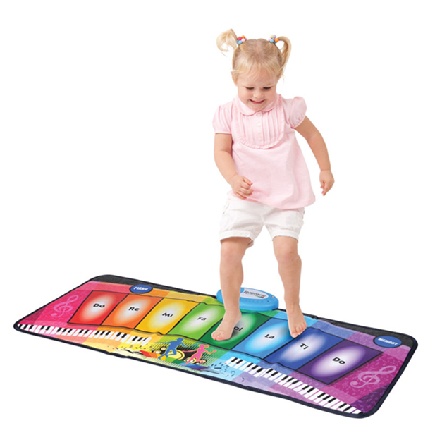 RAINBOW PIANO PLAYMAT