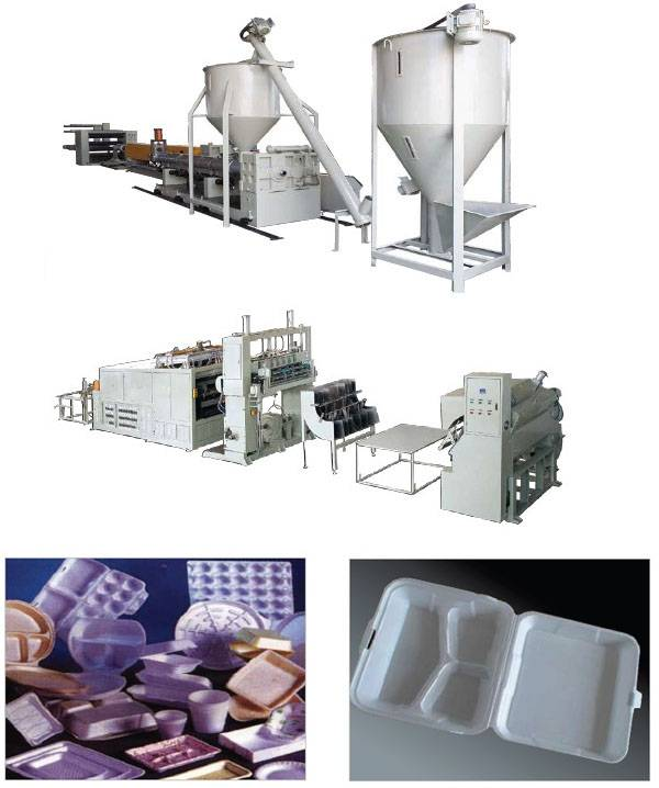 PSP foam sheet production line