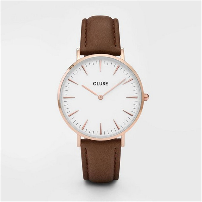 Yxl-237 Fashion Simple Design Stainless Steel Case Watch OEM Custom Logo Watches Cluse Watch Vogue L