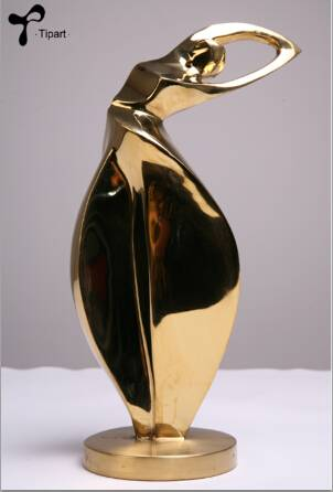 Trophy Stainless Steel Sculpture